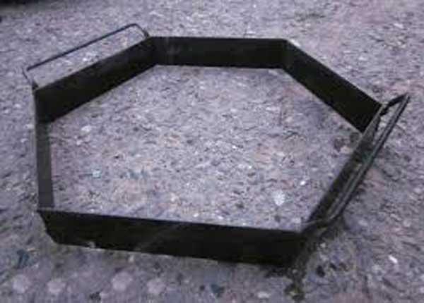Железная форма для тротуарной плитки