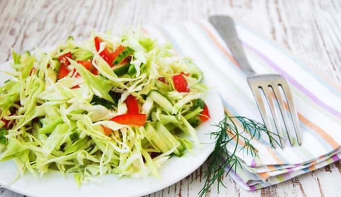 Салат к ребрышкам