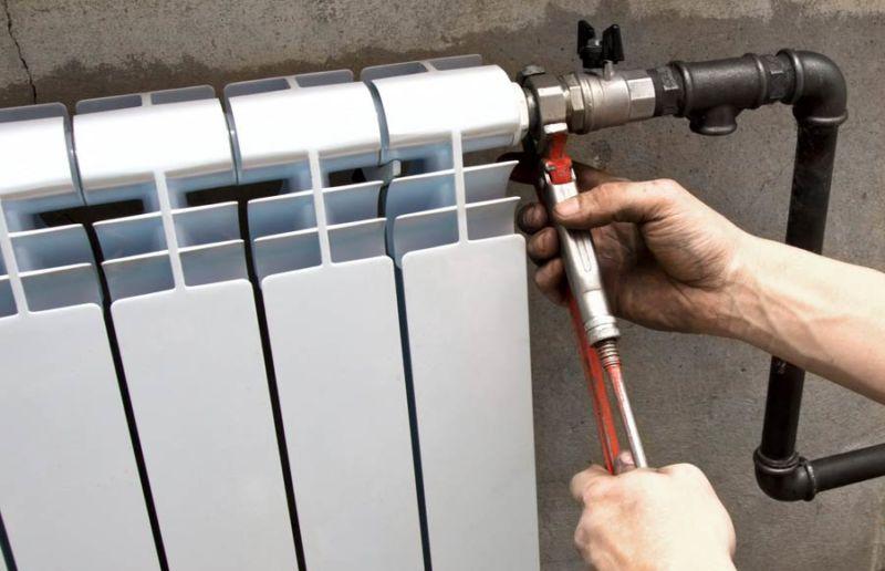 Подготовка радиатора