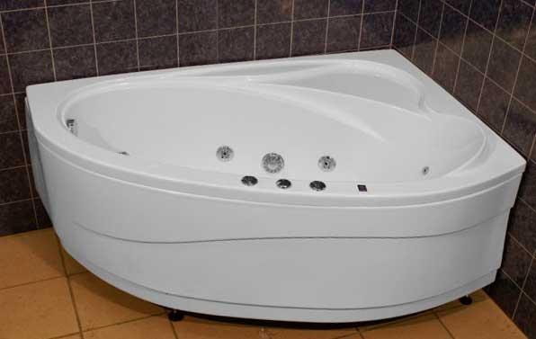 Акриловая ванна массаж