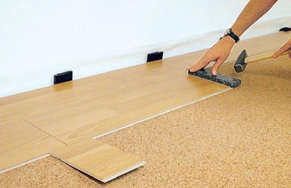 Выровнять бетонный пол без стяжки