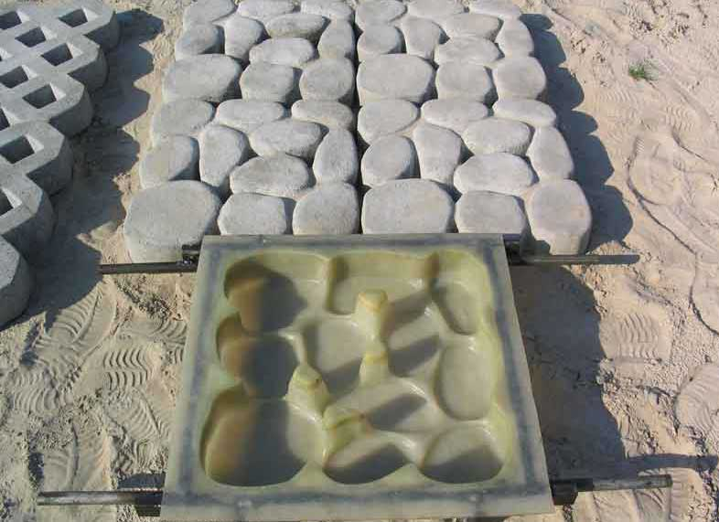 Форма для плитки силиконовая
