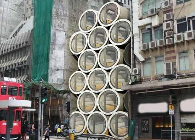 Дом будущего микродом в трубе