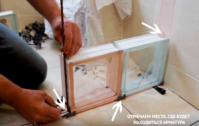 Укладка стеклоблоков своими руками: подробная инструкция