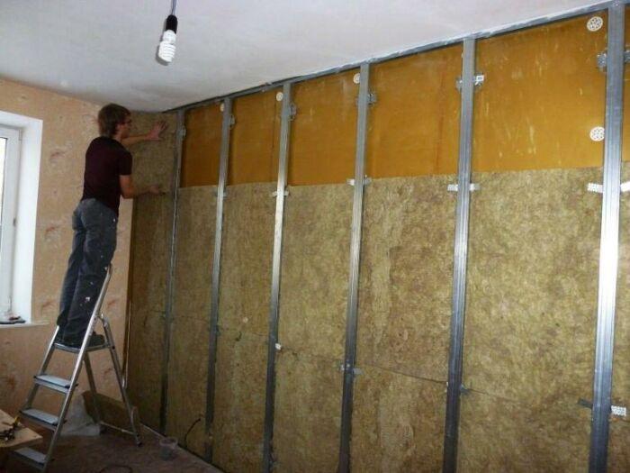 Звукоизоляция стен в квартире от соседей своими руками: материалы